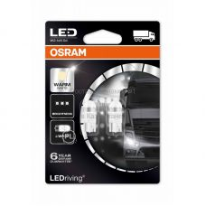 Габаритные огни Osram 2824WW-02B premium W5W теплый белый