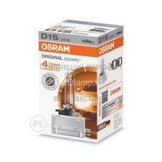 Лампа головного света для автомобиля Osram XENARC ORIGINAL 66140 D1S