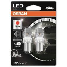 Габаритные огни Osram 7556R-02B premium P21W красный