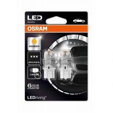 Габаритные огни Osram 7905YE-02B premium W21W оранжевый