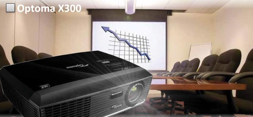 Optoma X300 Изображение большого размера