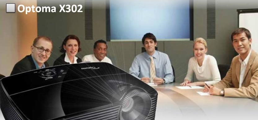 Optoma X302 Изображение большой яркости