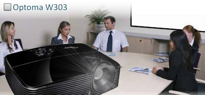 Optoma W303 Изображение большой яркости