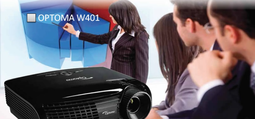Optoma W401 Проекция в широком формате!