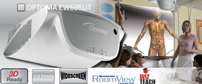 Проектор Optoma EW695UT
