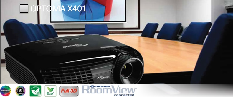 Проектор Optoma X401