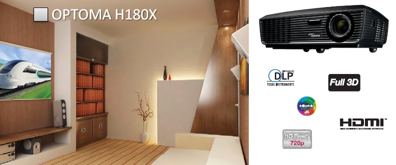 Проектор Optoma H180X