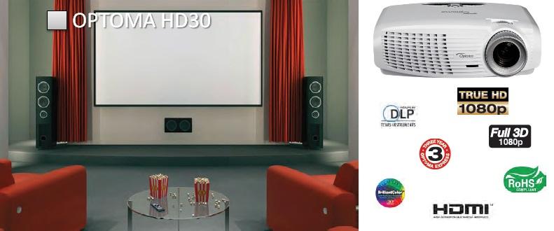 Проектор Optoma HD30
