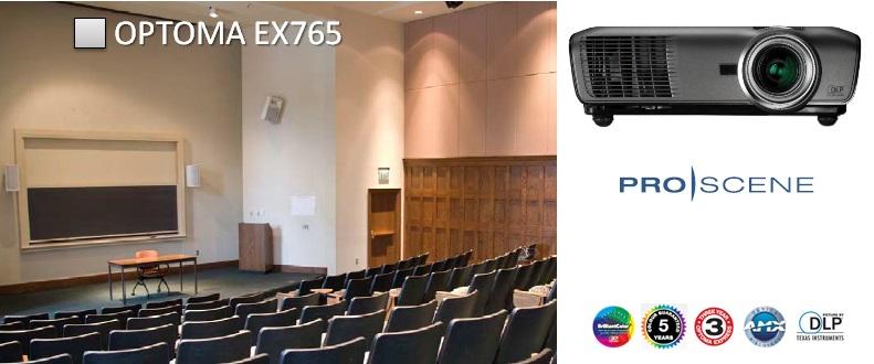 Проектор Optoma ProScene EX765
