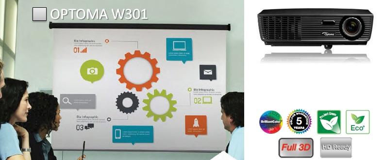 Проектор Optoma W301